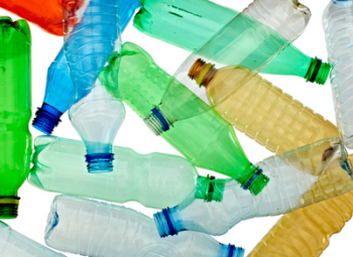 Allarme bottiglie di plastica