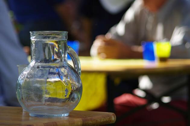 Acqua filtrata per bar e ristoranti